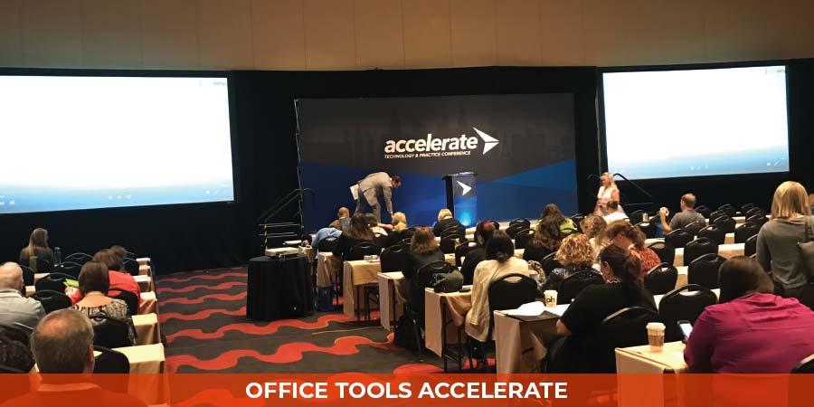 Office Tools Accelerate Conference, 2017