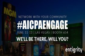Platinum Exhibitor at AICPA Engage 2018
