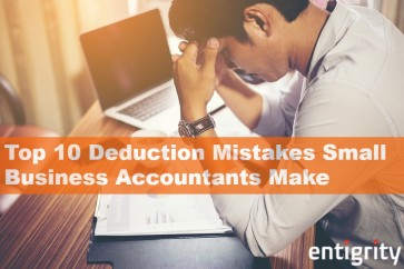 Tax Preparation - Top 10 Deduction Mistakes Small Business Accountants Make
