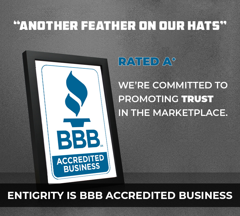 Entigrity Remote Staffing gets BBB Accreditation