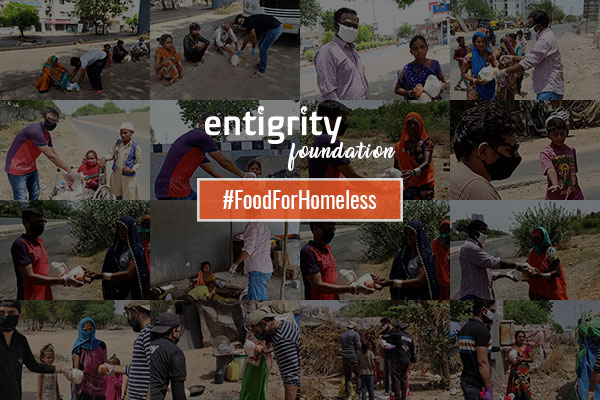 ENTIGRITY FOUNDATION - FOOD DISTRIBUTION DRIVE FOR HOMELESS
