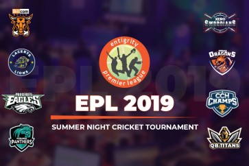 Summer Night Cricket Season of Entigrity Premier League 2019