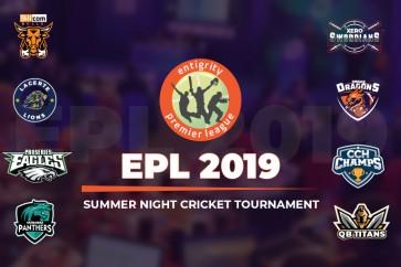 Summer Night Cricket Season of Entigrity Premier League 2019