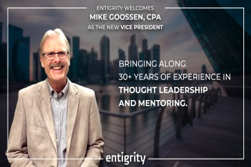 Mike Goossen Joins Entigrity As Vice President