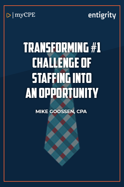 TRANSFORMING #1 CHALLENGE OF STAFFING INTO AN OPPO...