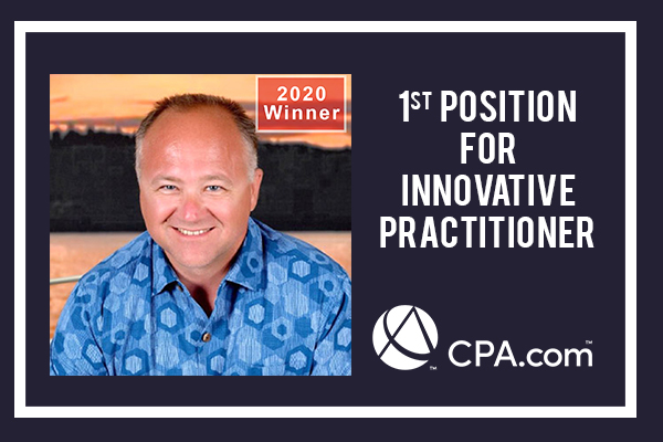 CONGRATS TO JODY GRUNDEN TO GET AWARDED WITH 1ST POSITION FOR INNOVATIVE PRACTITIONER BY CPA.com