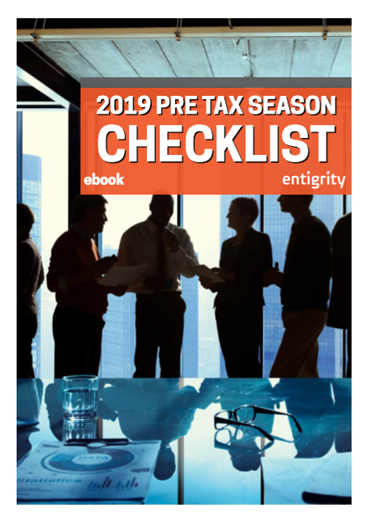 2019 PRE TAX SEASON CHECKLIST