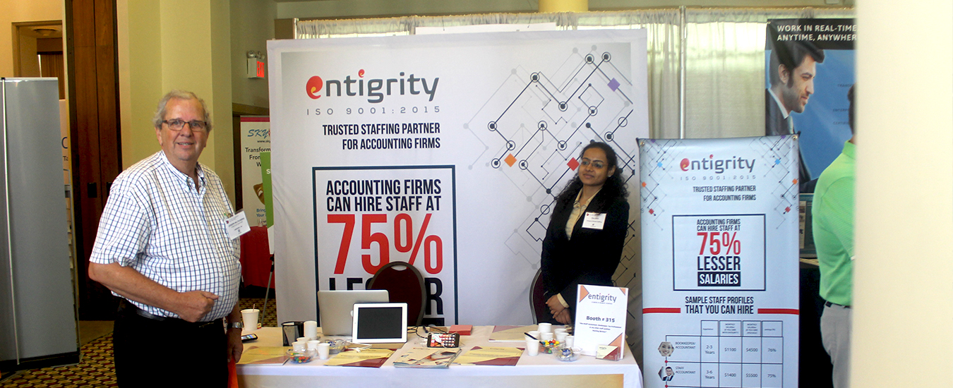 Entigrity premium gifting partners of the California Accounting Show