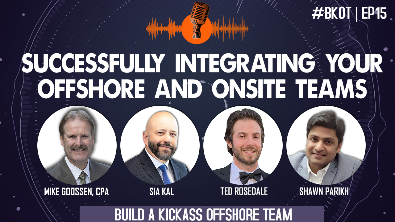 HOW TO INTEGRATE ONSHORE TEAM & OFFSHORE TEAM IN ACCOUNTING FIRMS