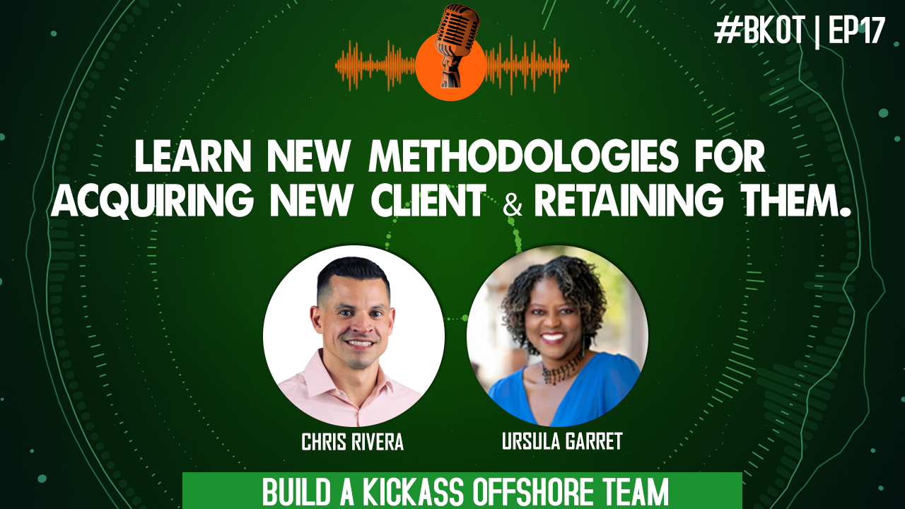 LEARNING NEW METHODOLOGIES FOR ACQUIRING NEW CLIENT & RETAINING THEM