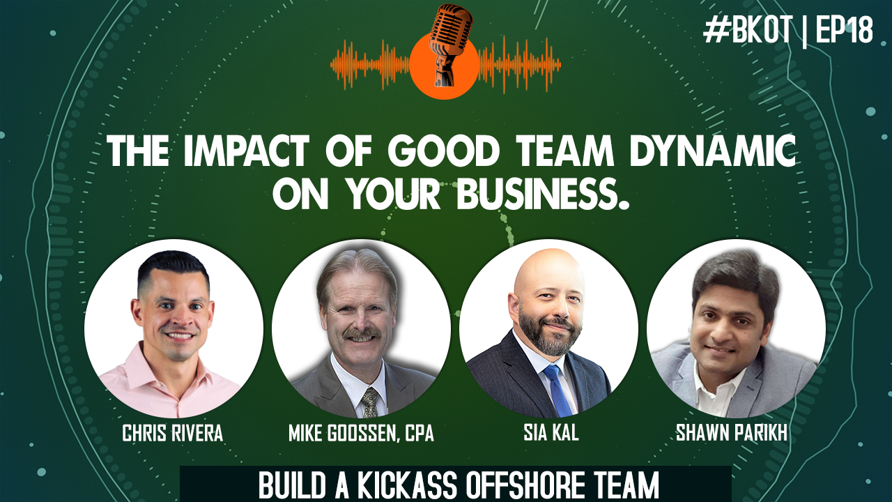 THE IMPACT OF GOOD TEAM DYNAMIC ON YOUR BUSINESS