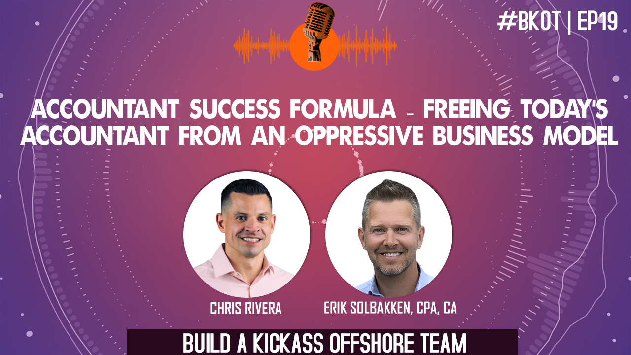 ACCOUNTANT SUCCESS FORMULA: FREEING TODAY'S ACCOUNTANT FROM AN OPPRESSIVE BUSINESS MODEL