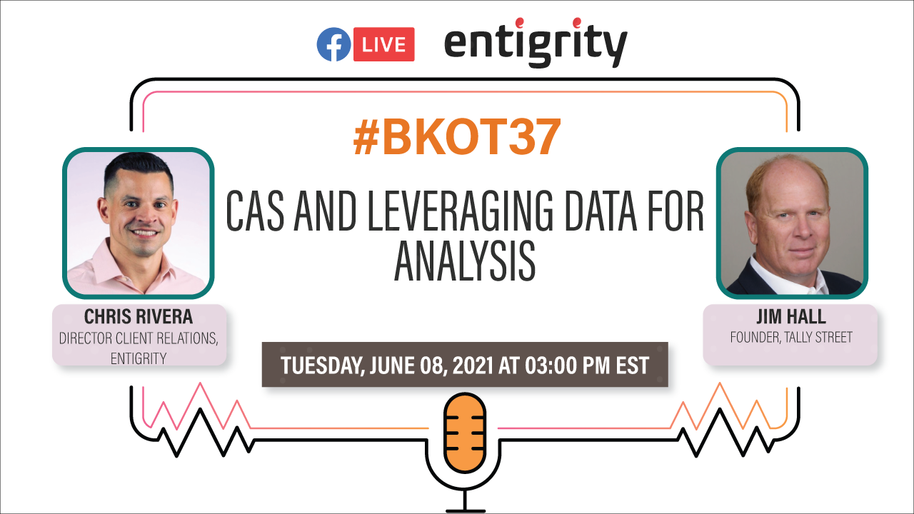 CAS AND LEVERAGING DATA FOR ANALYSIS