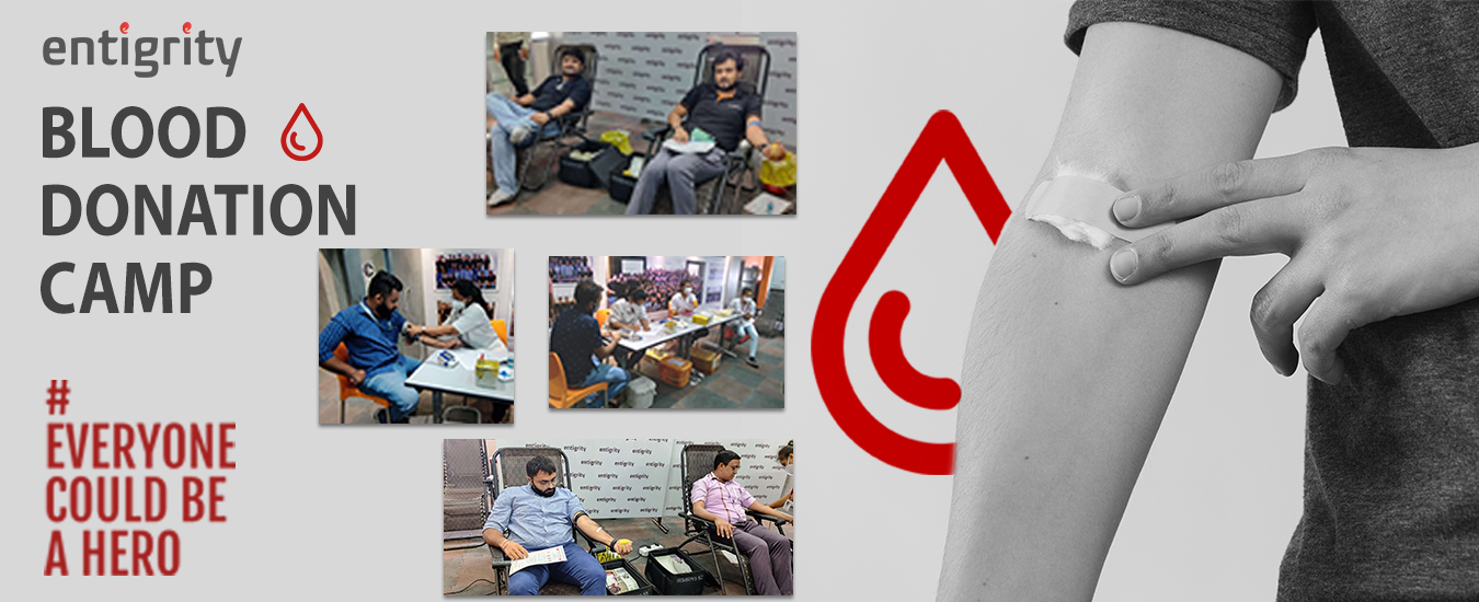WORLD BLOOD DONOR DAY AT ENTIGRITY