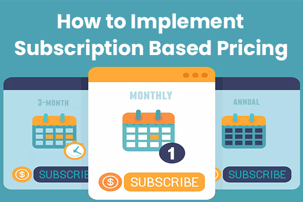 How to Implement Subscription Based Pricing for Accounting Firms