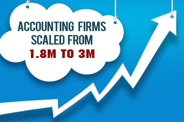 HOW ACCOUNTING FIRMS SCALED FROM 1.8M to 3M