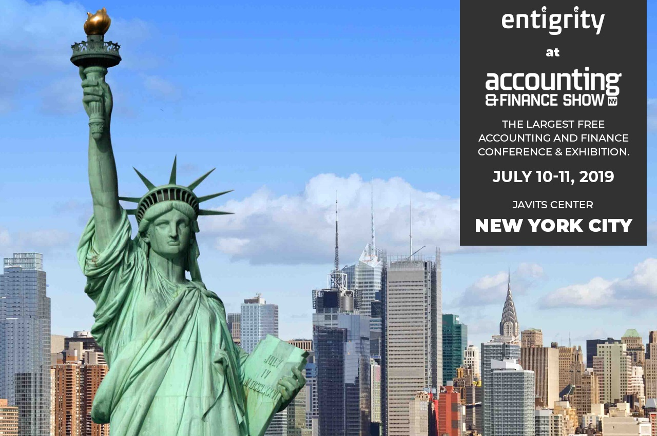 Entigrity at Accounting & Finance Show NY
