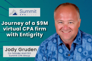 Journey of a $9M virtual CPA firm with Entigrity