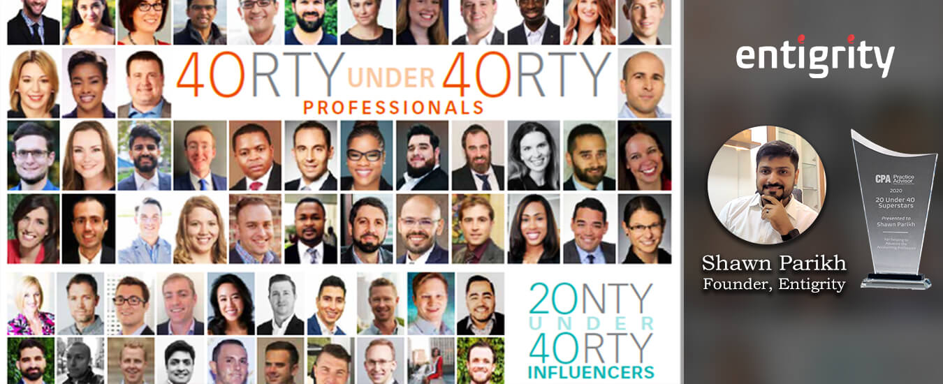 20 under 40 Honoree Award