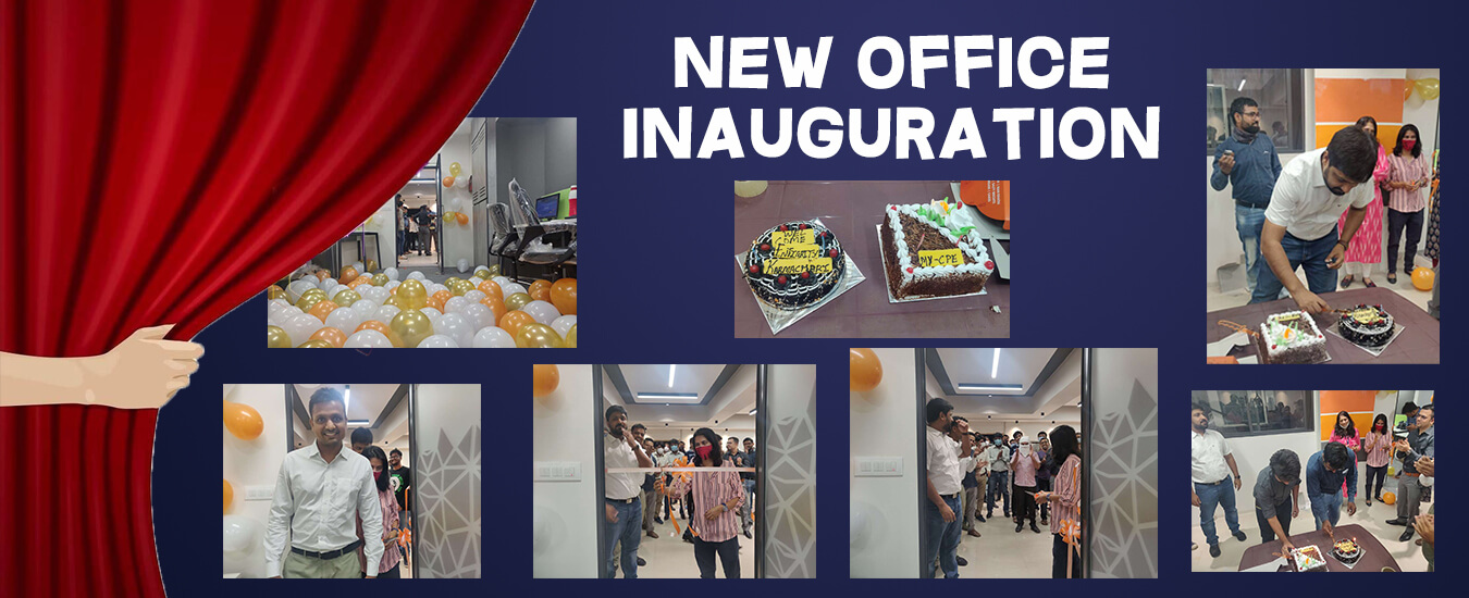 Celebration of New Office Inauguration in Ahmedabad